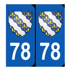Département 78 Yvelines blason