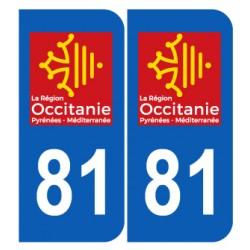 Département 81 Tarn nouveau logo région occitanie