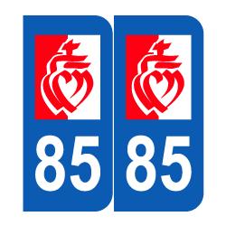 Département 85 Vendée région pays de la loire