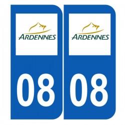Département 08 Ardennes logo