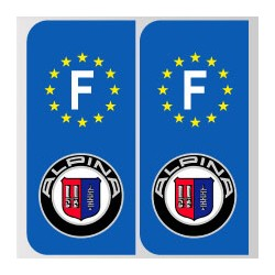 Stickers plaque Alpina