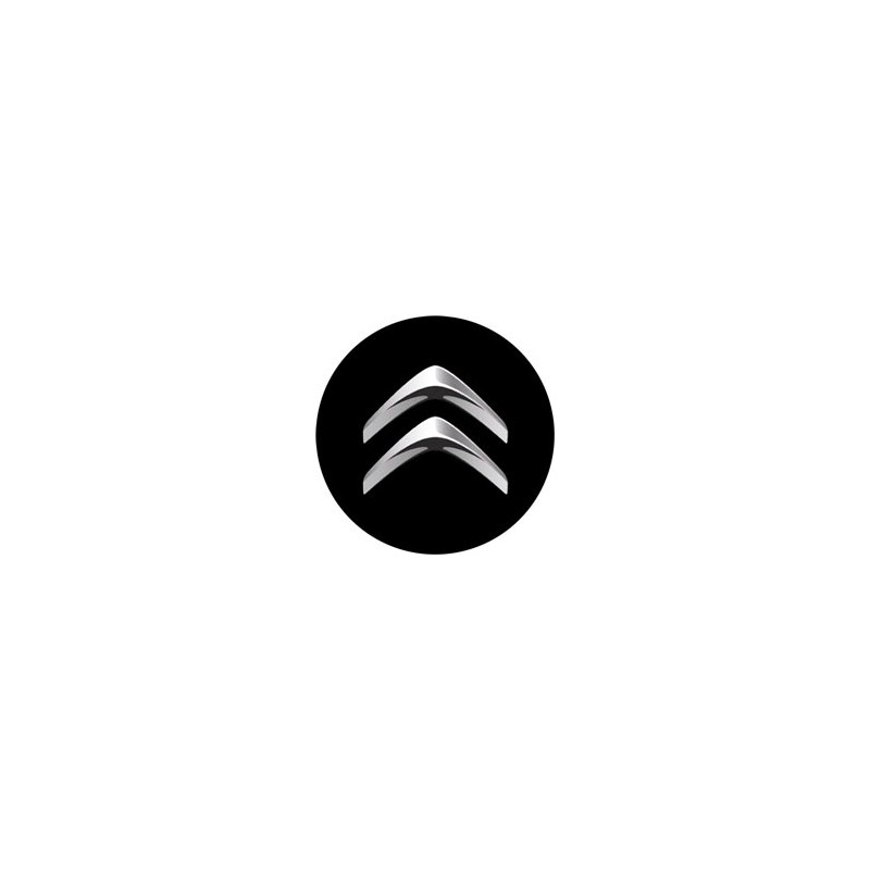 stickers cache moyeu citroen logo. Black Bedroom Furniture Sets. Home Design Ideas