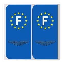 Stickers plaque Aston Martin