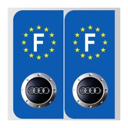 Stickers plaque Audi tt