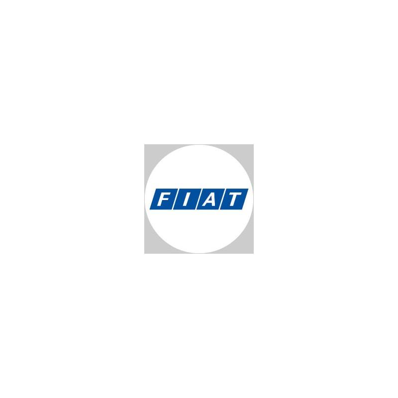 Fiat logo blanc