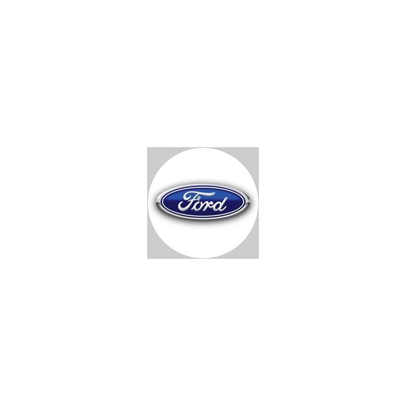 Ford logo blanc