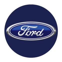Ford logo bleu