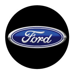 Ford logo noir