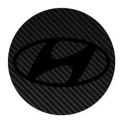 Hyundai imitation carbone
