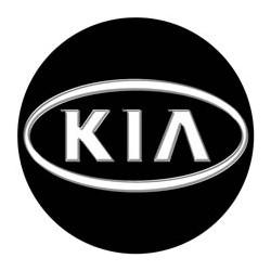 Kia logo noir