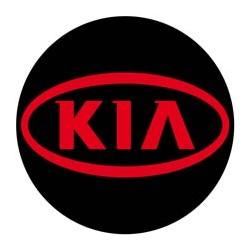 Kia logo rouge
