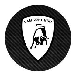 Lamborghini blanc façon carbone