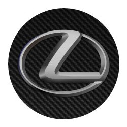 Lexus imitation carbone