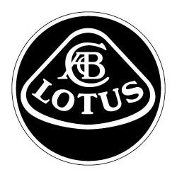 Lotus logo blanc et noir