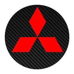 Mitsubishi imitation carbone