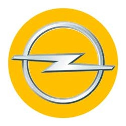 Opel fond jaune