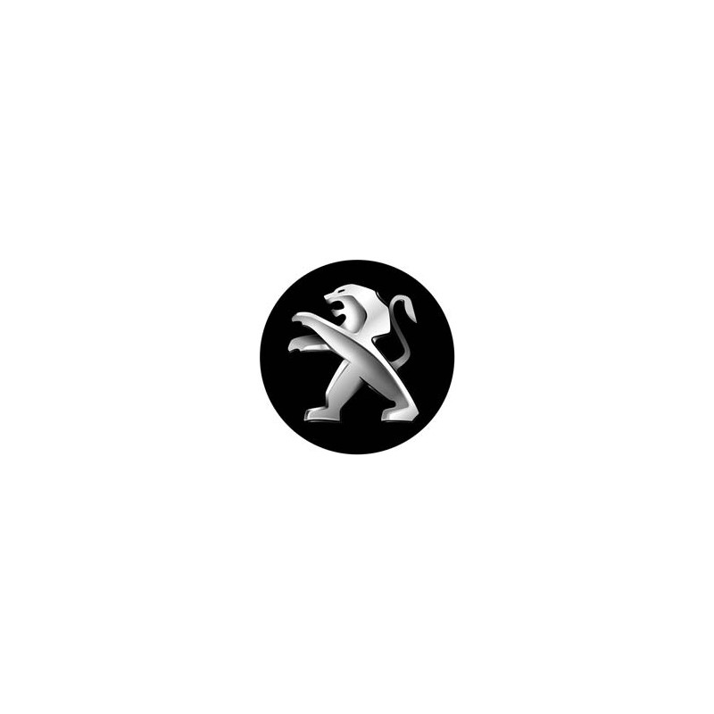stickers cache moyeu peugeot logo. Black Bedroom Furniture Sets. Home Design Ideas
