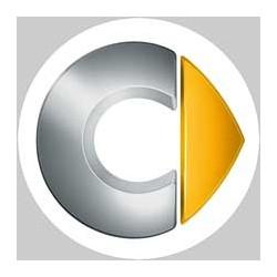 Smart logo blanc