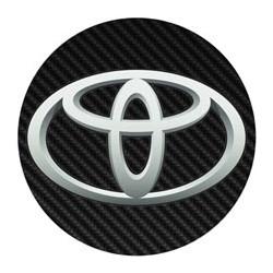 Toyota imitation carbone
