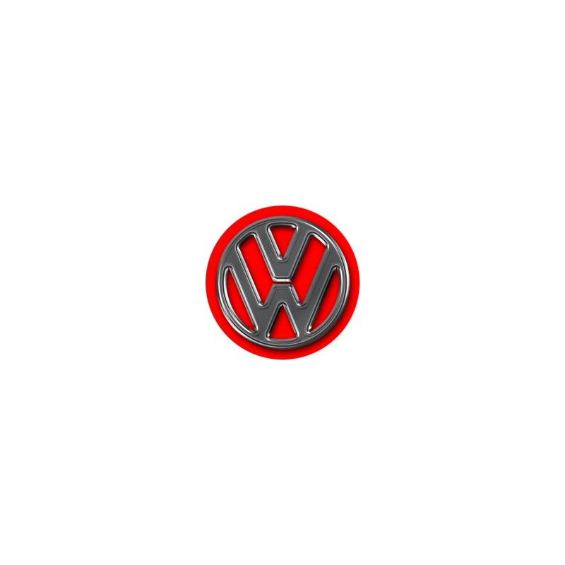 stickers cache moyeu volkswagen logo vw rouge jante. Black Bedroom Furniture Sets. Home Design Ideas