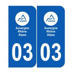 Département 03 Allier nouveau logo