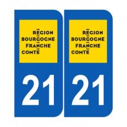 Département 21 Côte d'Or nouveau logo