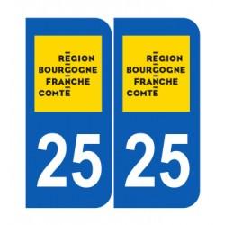 Département 25 Doubs nouveau logo