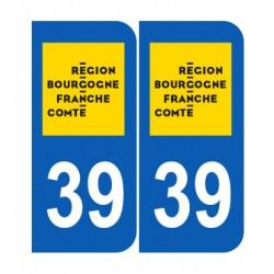 Département 39 Jura nouveau logo