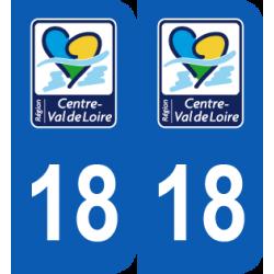 Département 18 Cher nouveau logo