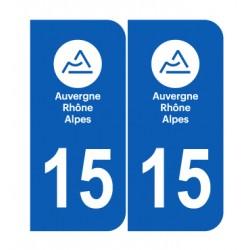 Département 15 Cantal nouveau logo