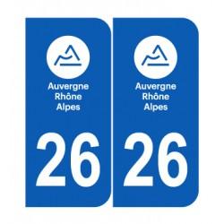 Département 26 Drôme nouveau logo