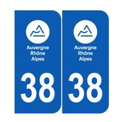 Département 38 Isère nouveau logo