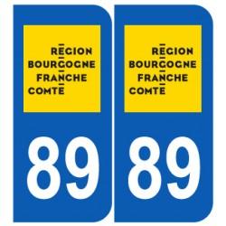 Département 89 Yonne nouveau logo