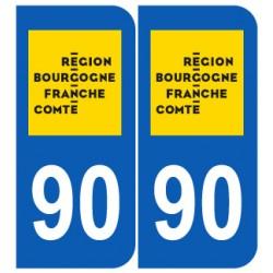 Département 90 Territoire-de-Belfort nouveau logo