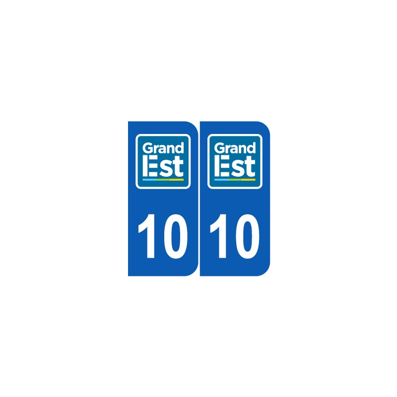 Département 10 Aube nouveau logo grand est