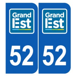 Département 52 Haute Marne nouveau logo grand est