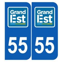 Département 55 Meuse nouveau logo grand est