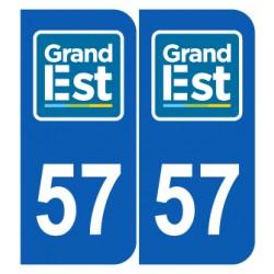 Département 57 Moselle nouveau logo grand est