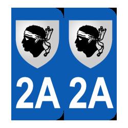 Département 2A Corse blason