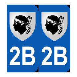 Département 2B Corse blason