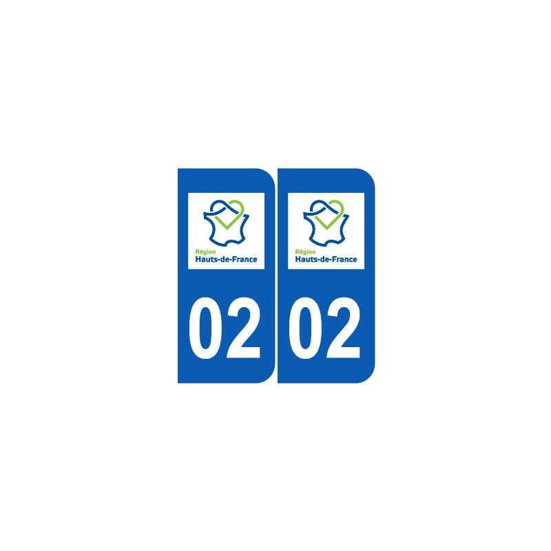 Département 02 Aisne nouveau logo hauts de france