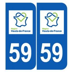 Département 59 Nord nouveau logo hauts de france