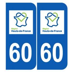 Département 60 Oise nouveau logo hauts de france