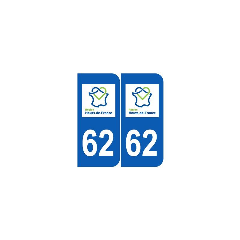 Département 62 Pas de Calais nouveau logo hauts de france