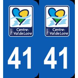 Département 41 Loir et Cher nouveau logo centre val de loire