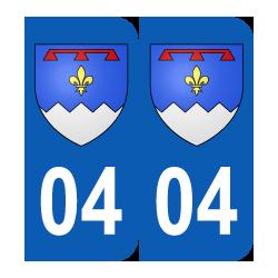 Département 04 Alpes de Haute Provence blason