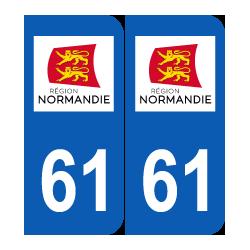 Département 61 Orne nouveau logo normandie