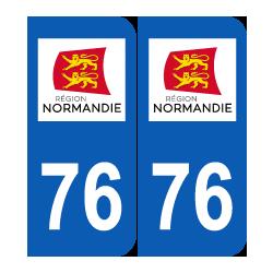 Département 76 Seine Maritime nouveau logo normandie