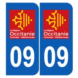 Département 09 Ariège nouveau logo région occitanie