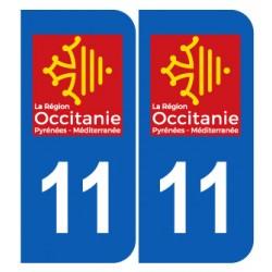 Département 11 aude nouveau logo région occitanie